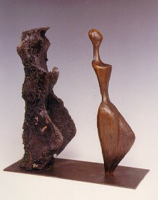Robert Holmes - Bronze Sculpture - Emerging