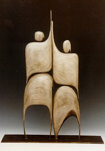 Robert Holmes - Bronze Sculpture - I am Tango