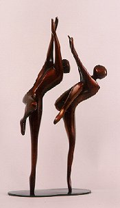 Robert Holmes - Bronze Sculpture - Just Dancing
