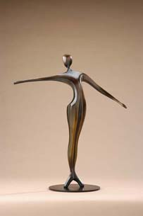Robert Holmes - Bronze Sculpture - Port De Bras