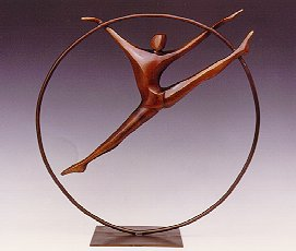 Robert Holmes - Bronze Sculpture - Ring Dancer