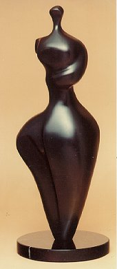 Robert Holmes - Bronze Sculpture - Standin Figure 4 - Adam