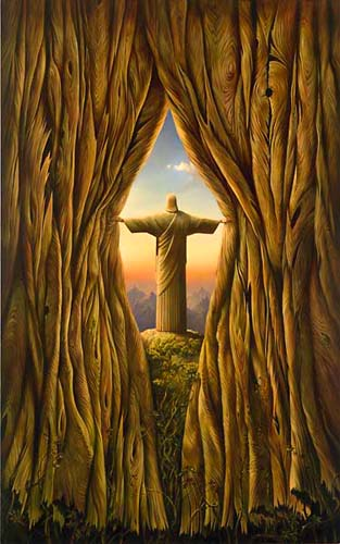 ABOVE THE WORLD 43 x 27 Edition: 325 by Vladimir Kush