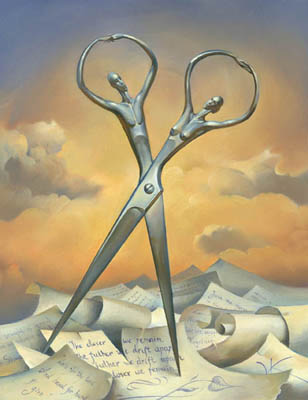 ALWAYS TOGETHER 12 x 10 Edition: 325 by Vladimir Kush
