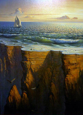 Edge of the Earth by Vladimir Kush