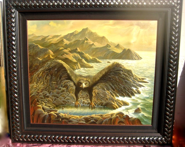 HEAVY PREY by Vladimir Kush - original painting