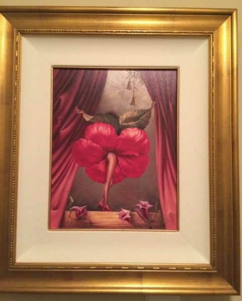 HIBISCUS DANCER by Vladimir Kush