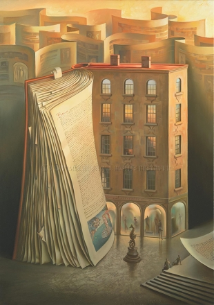 HISTORY OF THE HOUSE by Vladimir Kush
