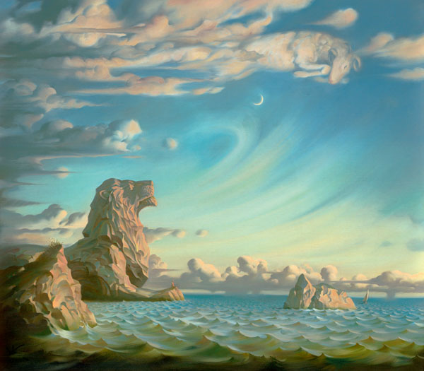 I SAVED MY SOUL 20 x 23 Edition: 100 by Vladimir Kush