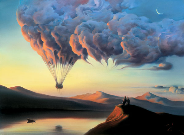 METAMORPHOSIS by Vladimir Kush