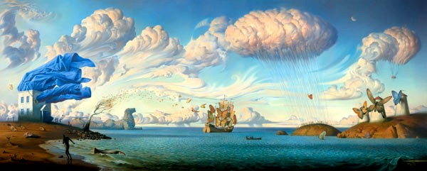 Metaphorical Journey by Vladimir Kush