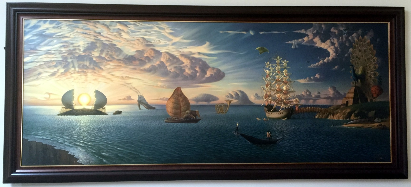 MYTHOLOGY OF THE OCEANS and HEAVENS by Vladimir Kush