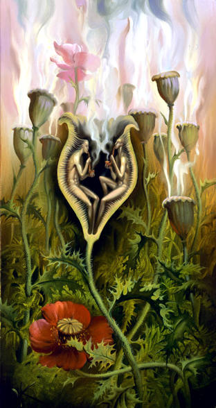 OPIUM LOVERS 9 x 17 Edition: 325 by Vladimir Kush