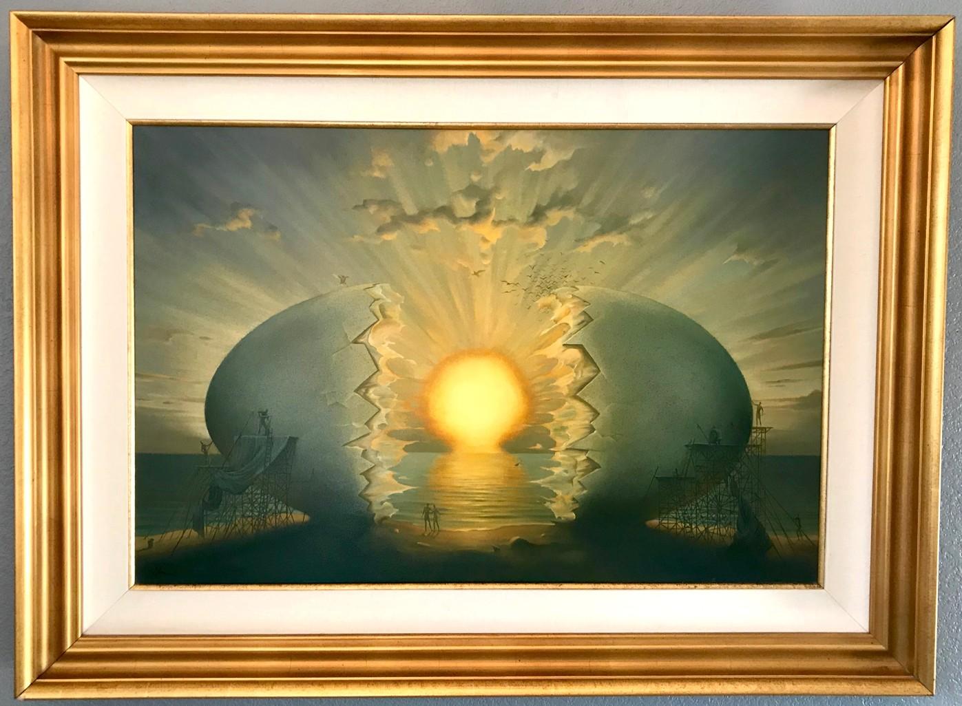FINE ART PRINT Salvador Dali Art Paper Canvas Vladimir Kush /'Fiery Dance/'