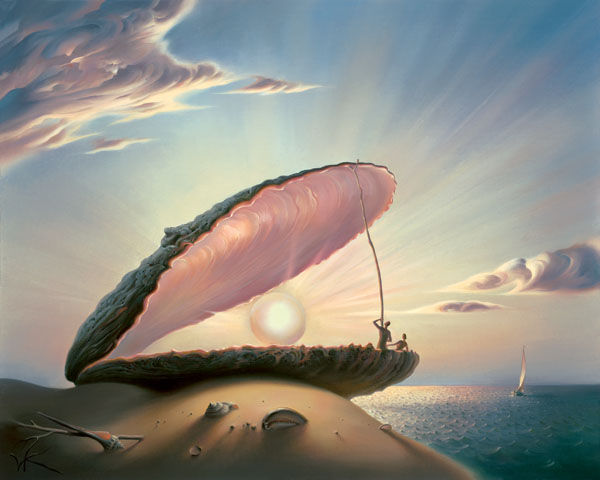 PEARL 15 x 19 Edition: 325 by Vladimir Kush