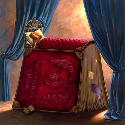 PILLOW BOOK 20 x 20 Edition: 250 by Vladimir Kush