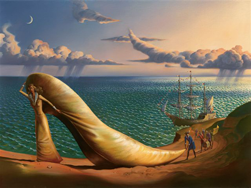 PRINCESS CINDERELLA - 18 x 24 - Edition size: 250 by Vladimir Kush