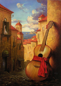 Romance for Juliet by Vladimir Kush