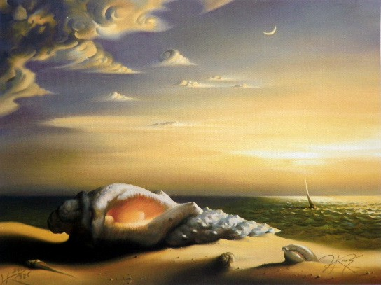 SHELL 14 x 19 Edition: 325 by Vladimir Kush