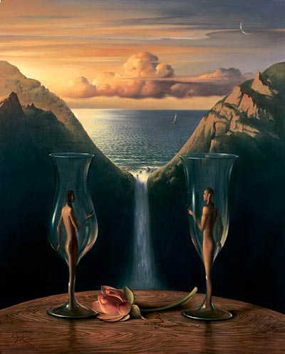 TO OUR TIME TOGETHER 14.5 x 18 Edition: 325 by Vladimir Kush