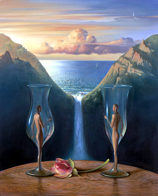 To Our Time Together by Vladimir Kush