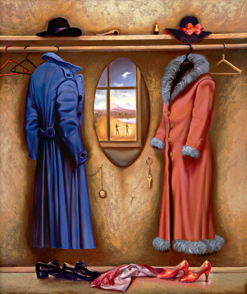 WARDROBE 26 x 21.5 Edition: 325 by Vladimir Kush