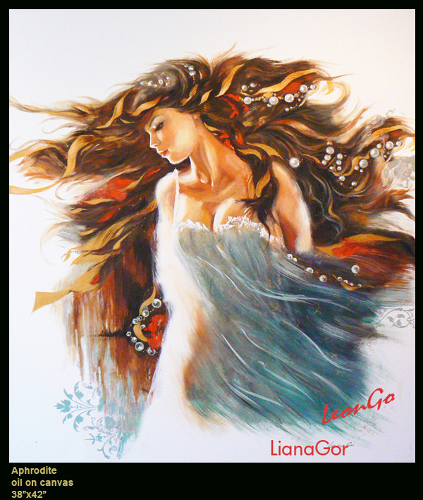 Liana Gor - Aphrodite - Oil on Canvas