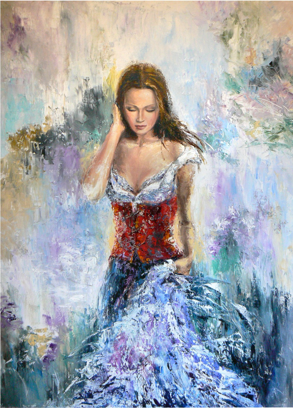 Liana Gor - Giselle 40x30 - Oil on Canvas