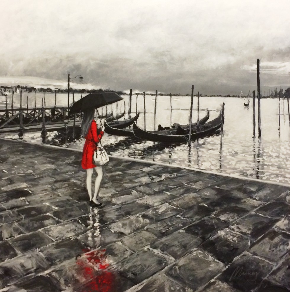 Shawn Mackey - venice afternoon Original painting
