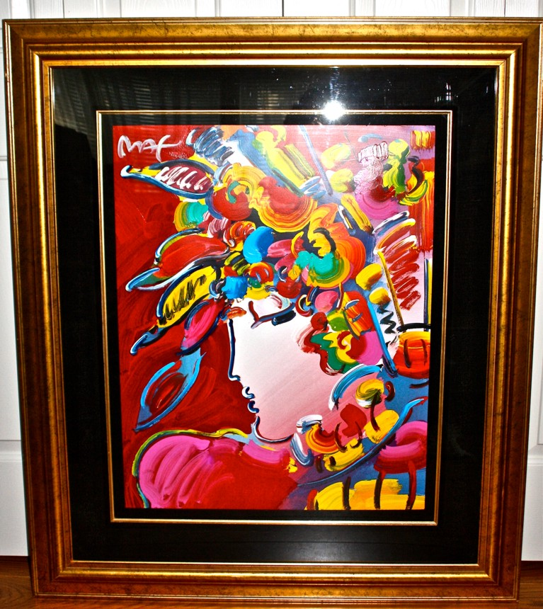 BLUSHING BEAUTY - Fine Art by Peter Max