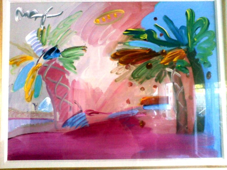 American 500: Palm Tree - Fine Art by Peter Max