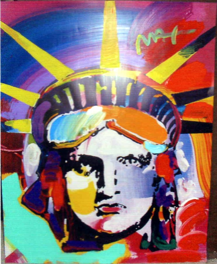 Delta - Fine Art by Peter Max