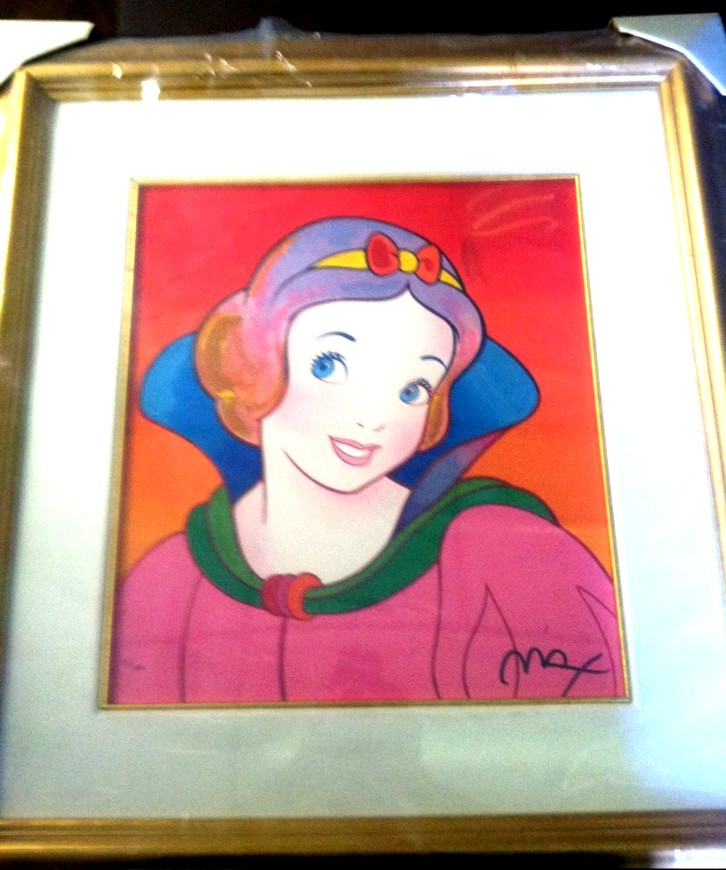 Peter Max - Disney Commemorative Suite I - Snow White