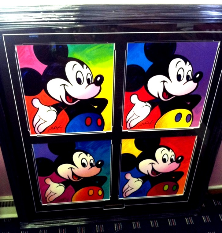 Peter Max - Disney Mickey Mouse Suite