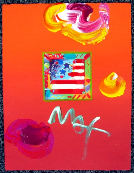FLAG - Fine Art by Peter Max