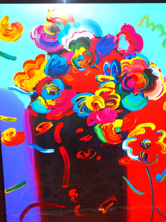 Roseville Profile - Fine Art by Peter Max
