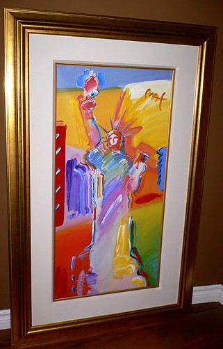 Statue of Liberty - Fine Art by Peter Max