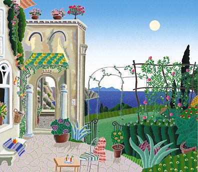Thomas McKnight - Amalfi Ravello Garden