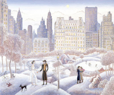 Thomas McKnight - Central Park Rendevous