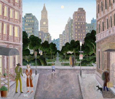 Thomas McKnight - Gramercy Park