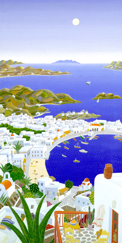 Thomas McKnight - Mykonos Horizons