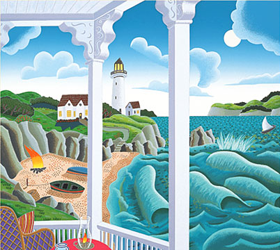 Thomas McKnight - New England Lighthouse Point