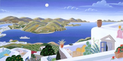 Thomas McKnight - Patmos Panorama
