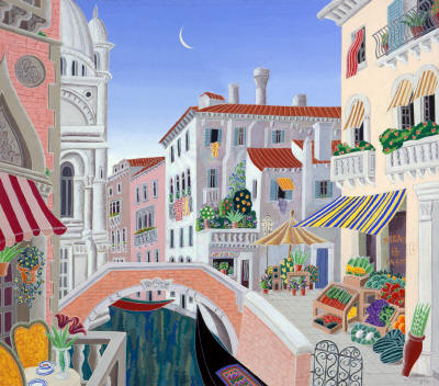 Thomas McKnight - Venetian Afternoon