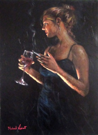 Ladies Night - Oil on Canvas by Michael - Vincent
