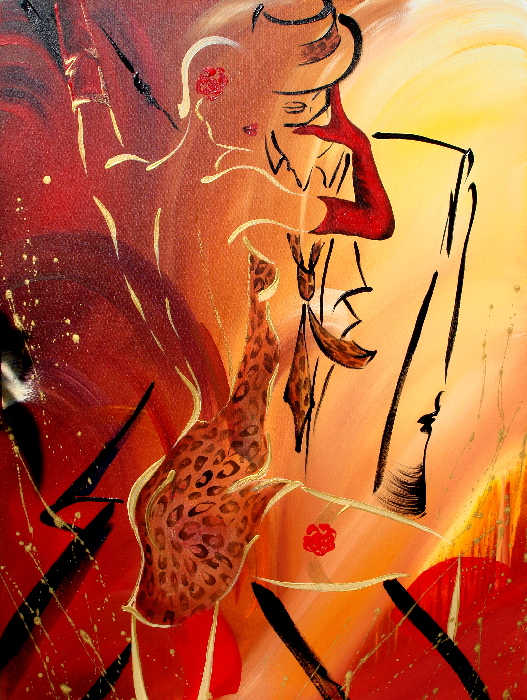 Tango Abstract Painting
