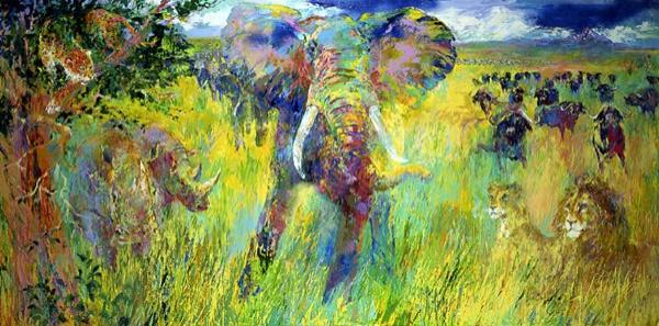 Leroy Neiman - Big Five
