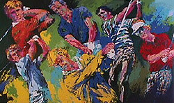 Leroy Neiman - Golf Winners