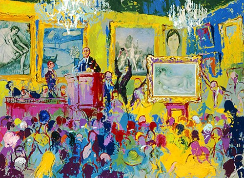 INTERNATIONAL AUCTION - Fine Art by Leroy Neiman