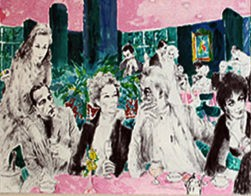 POLO LOUNGE - Fine Art by Leroy Neiman